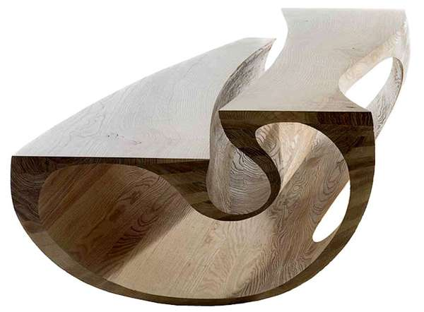 Curvy Cut-Out Furniture