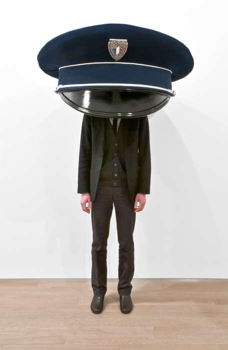 Oversized Hat Exhibits Erwin Wurm