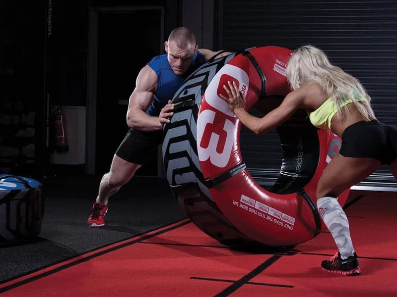 Tire-Shaped Workout Gear