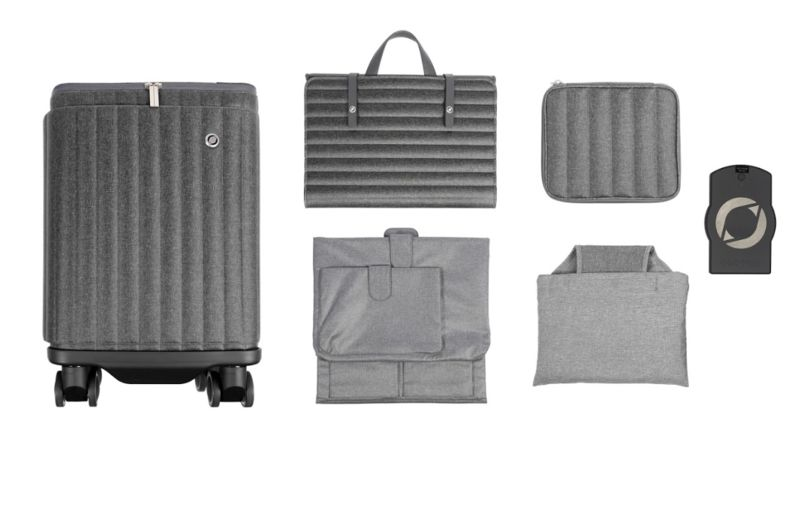 Kinetically Powered Suitcases