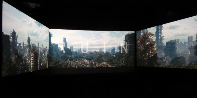 Tri-Paneled Cinema Screens