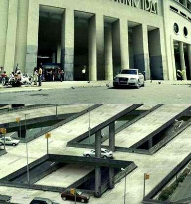 Escher-Inspired Audi A6 Commercial