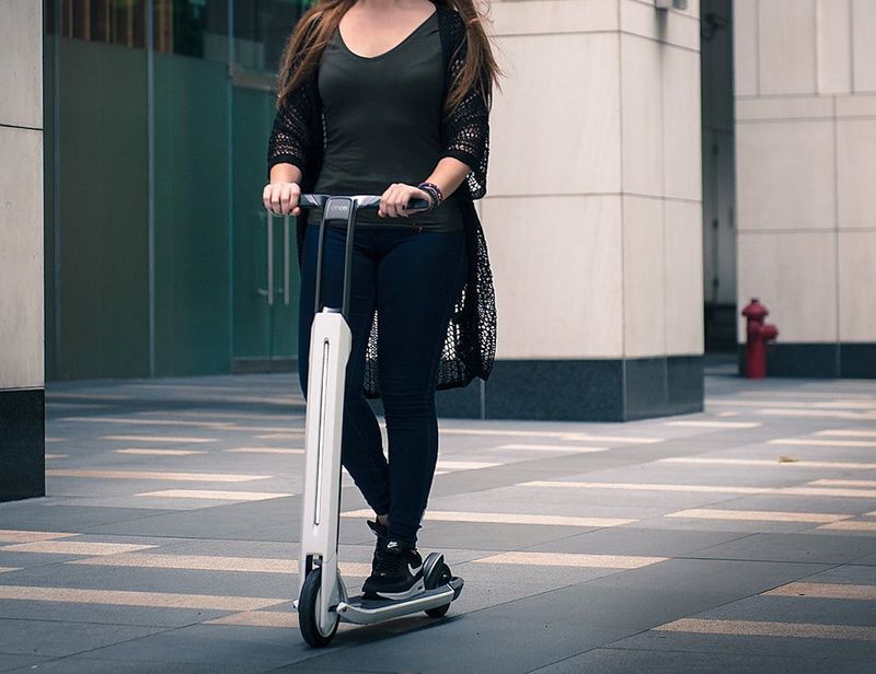 Portable Urban E-Scooters