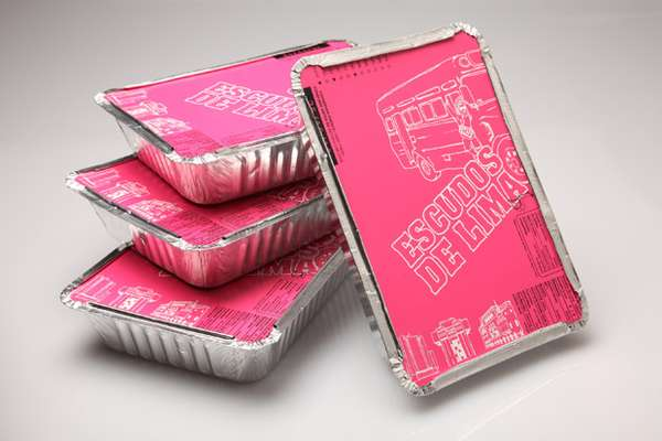 Takeout Container T-Shirt Packaging