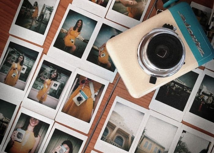 Hand-Powered Instant Cameras