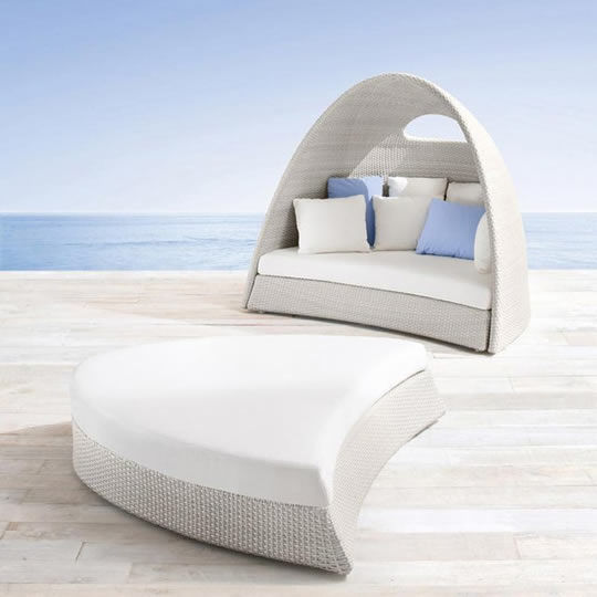 Igloo-Like Outdoor Loungers