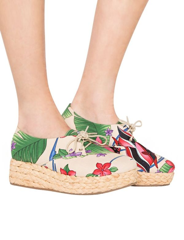 Travel-Ready Tropical Footwear