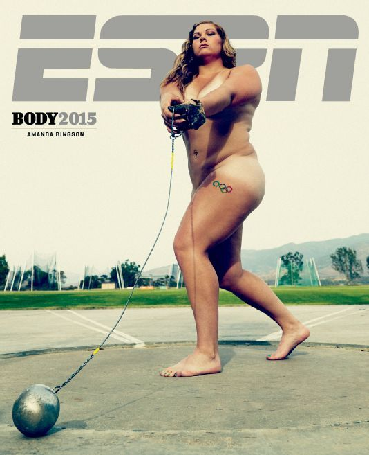 Body Positive Athlete Covers