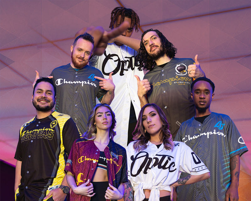 Collaborative eSports Jerseys