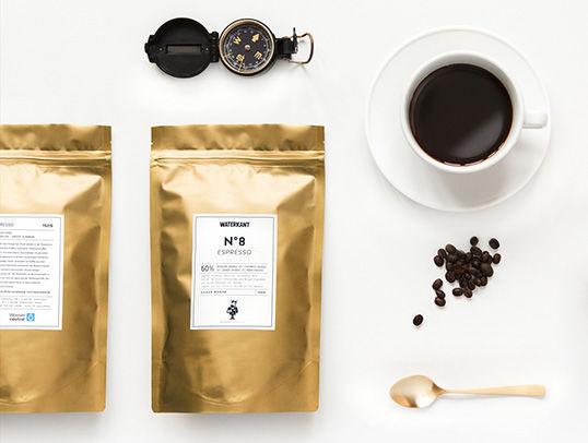 Gold Leaf Espresso Branding