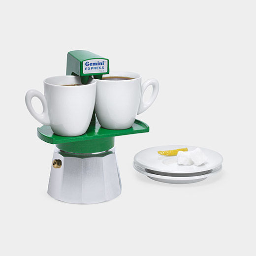 Dual-Cup Espresso Makers