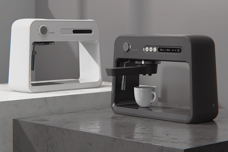 Open-Concept Coffee Makers