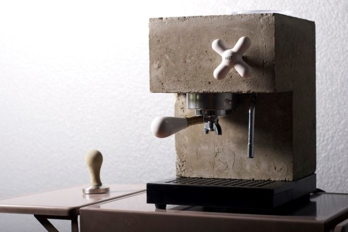 Earthy Espresso Makers Espresso Machine Design