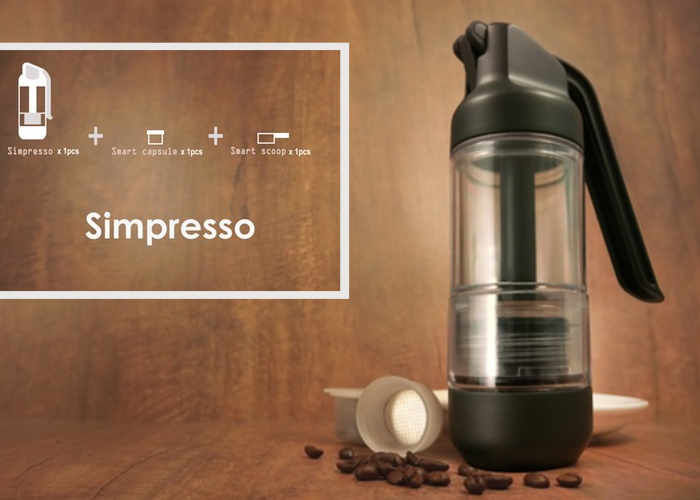Simplified Portable Espresso Makers