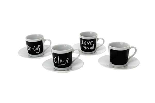 Blackboard Coffee Cups