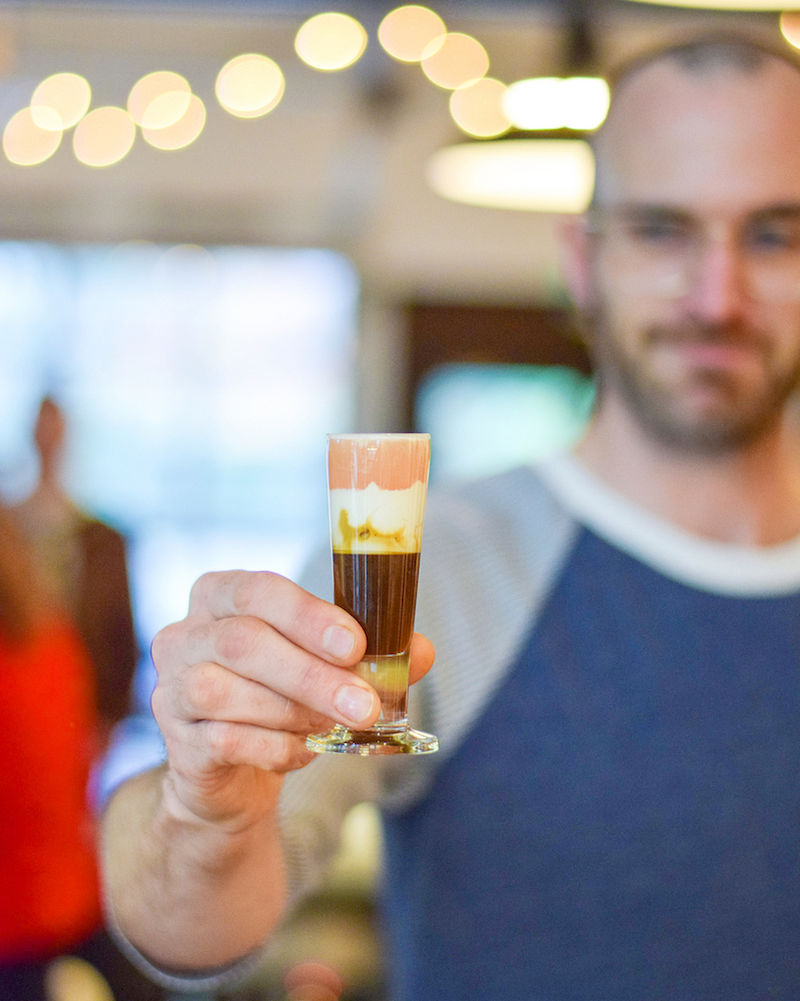 Juice-Infused Espresso Shots