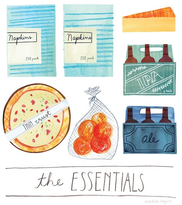 Illustrated Food Lists