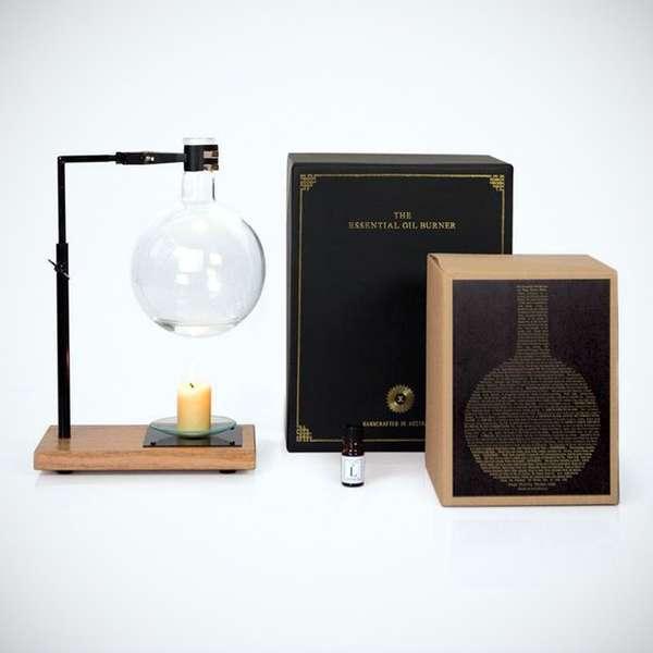 Scientific Aroma Therapy Diffusers : essential oil burner