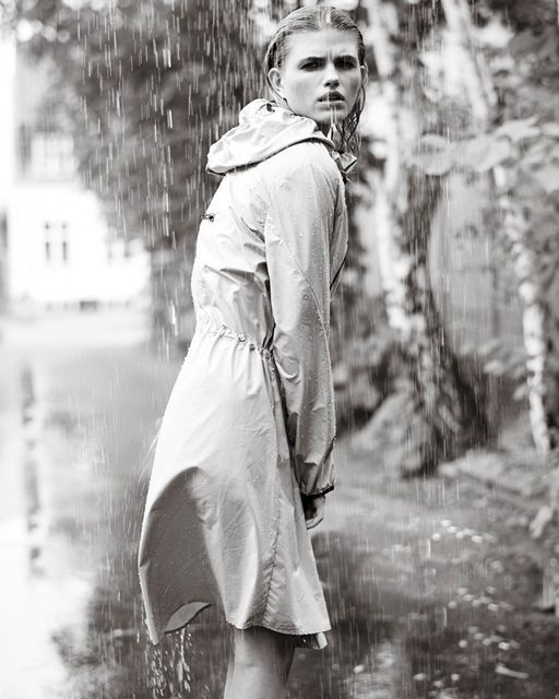 Posh Precipitation Fashion Campaigns