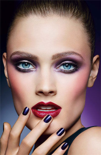 Futuristic Gel Makeup