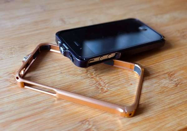 Aluminum-Framed Phone Cases