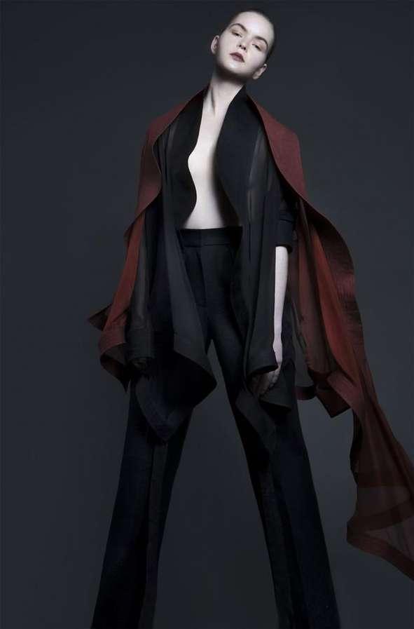 Darkly Feminine Fashion