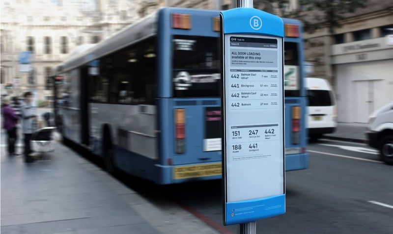 Smart Bus Info Boards