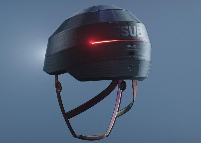 Self-Adjusting Cyclist Helmets