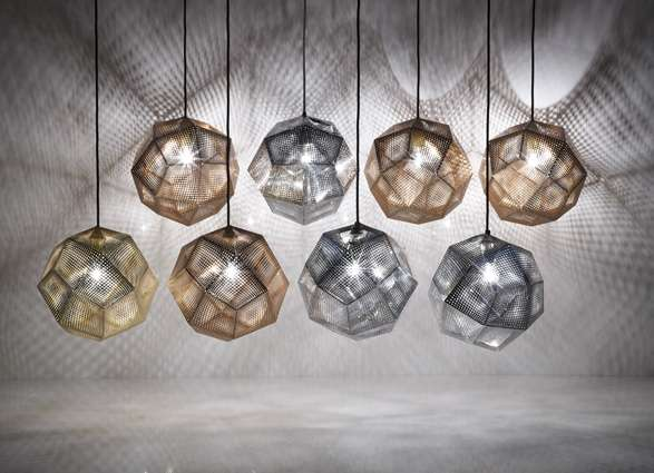 Hexagonal Prism Lighting Etch Shade