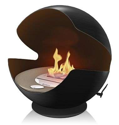 Flaming Pod Spins 360 Degrees