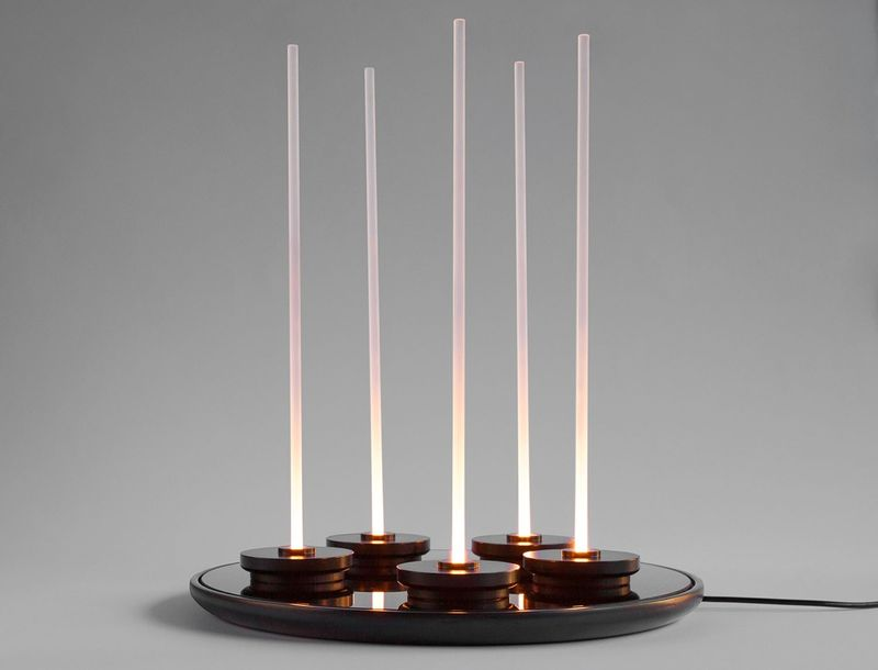 Glowing Futuristic Candle Replacements