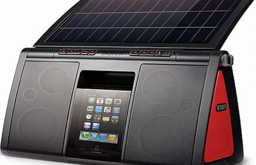 Solar-Powered Stereos