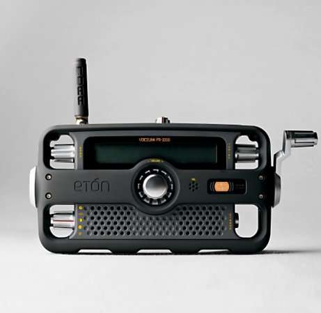 Emergency Hand Crank Radio Phone Flashlight Siren
