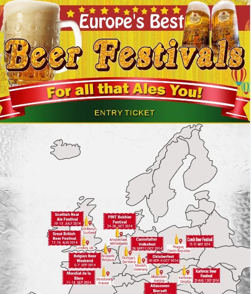 Beer Festival Infographics
