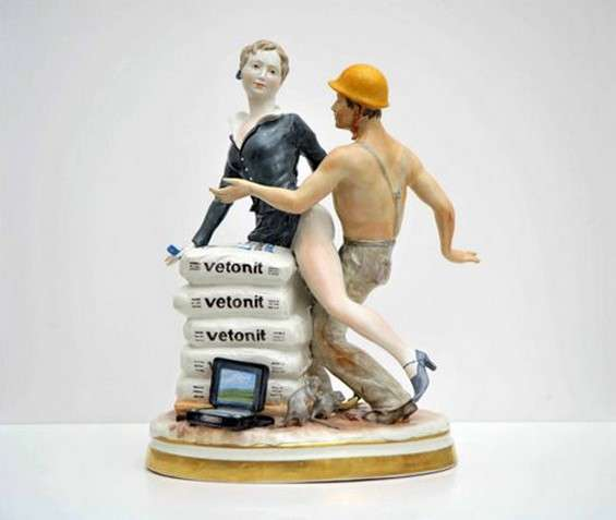 Sensualized Porcelaine Figurines