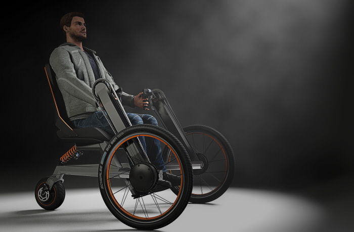Transforming Paraplegic Bicycles Ev Electric Wheelchair