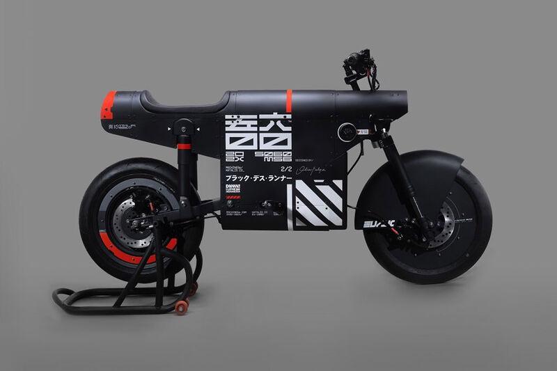 Collaboration Eco-Conscious Motorcycles
