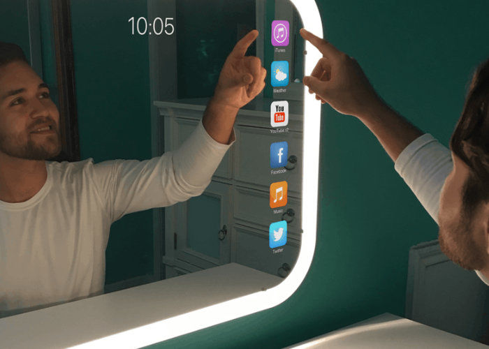Good News Is That This Morning They >> App Store-Connected Mirrors : Eve Smart Mirror
