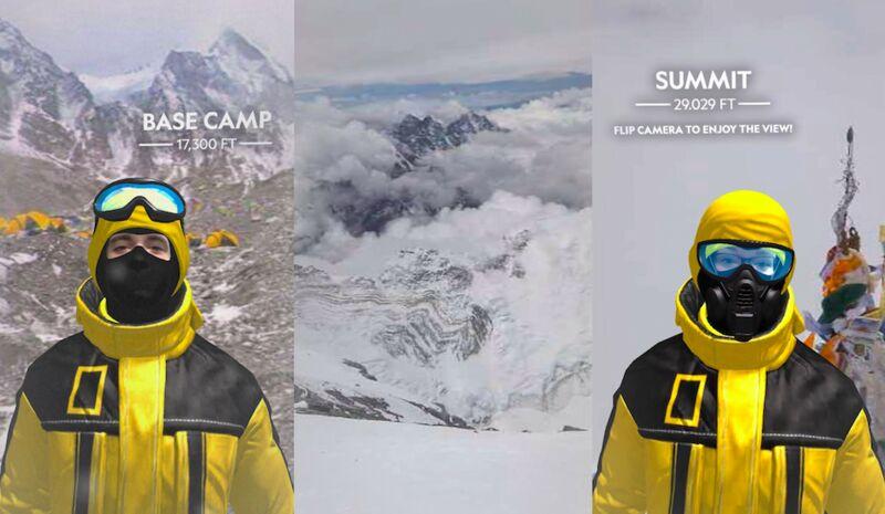 360 AR Mountain Experiences