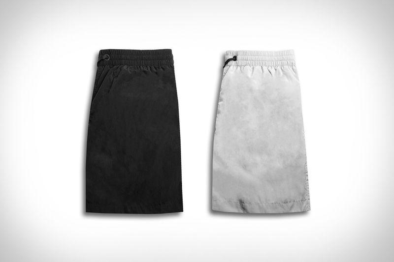 Regenerated Nylon Swim Trunks - The Everest Isles Swim Trunks are Made from Reclaimed Materials (TrendHunter.com)