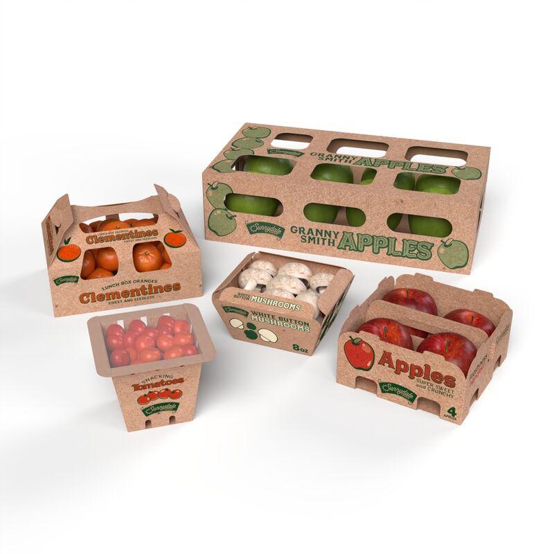 Fiber-Based Produce Packaging