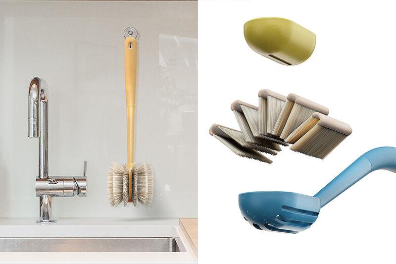 Sustainable Dishwashing Brushes