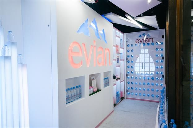 Upscale Water Brand Pop-Ups
