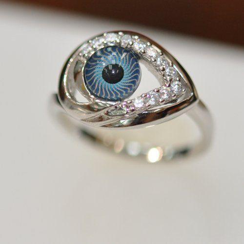 Shimmering Eye Rings