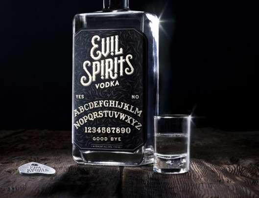 Dark Magic Booze Branding
