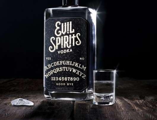 Dark Magic Booze Branding Evil Spirits