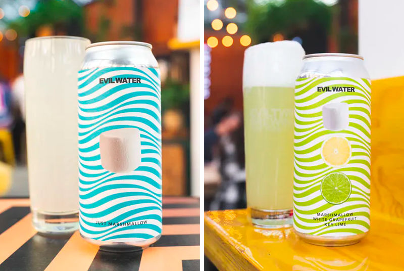 Beer Drinker-Targeted Hard Seltzers