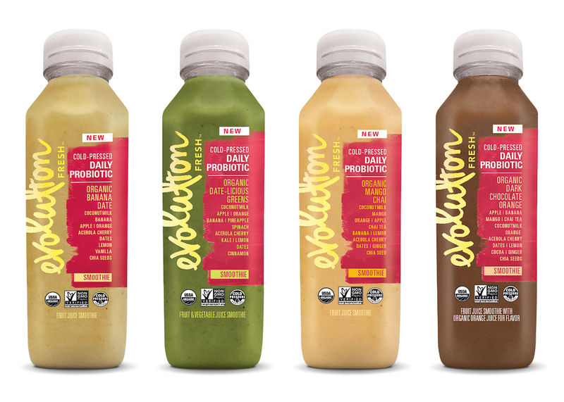 Bottled Probiotic Smoothies