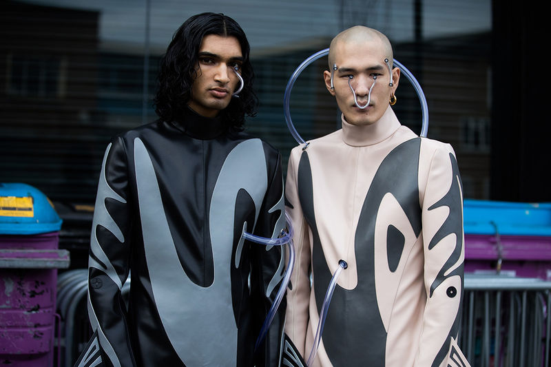 Evolution-Inspired Menswear