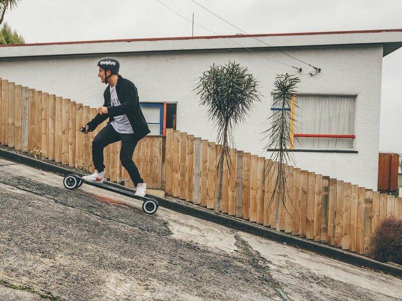 Performance-Focused Electric Skateboards